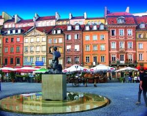 ワルシャワ 旧市街