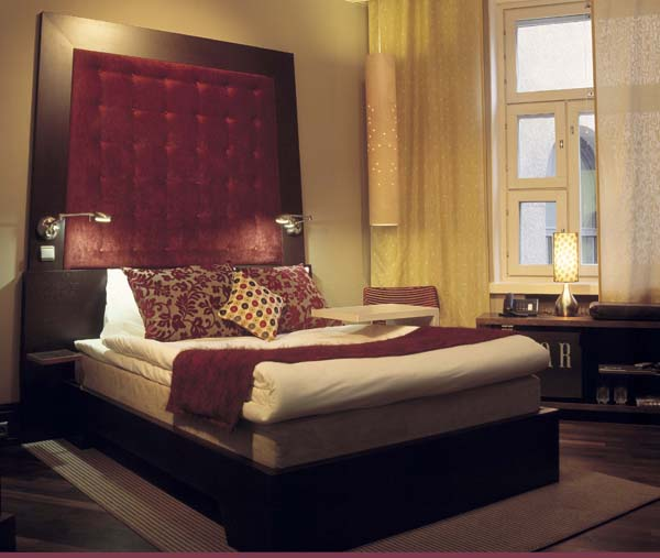 K for Passionate bedroom designs