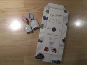 この秋の新商品、Fazerのチョコ