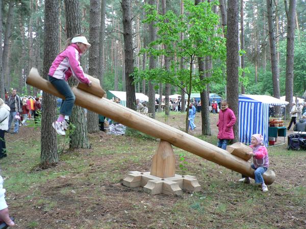 子供たちが遊べるプレイスペースもあります。