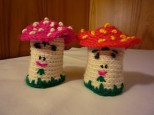 手編みキノコ