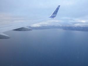 スヴァルバール諸島が見えてきたワクワク