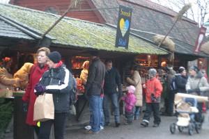 スカンセンのクリスマスマーケット