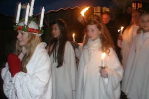 ルシア祭 ルシアの行進