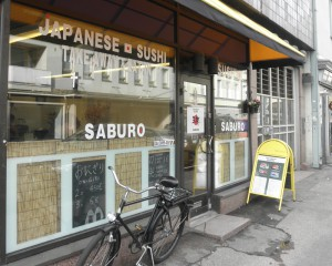 ヘルシンキ・日本寿司店・三郎