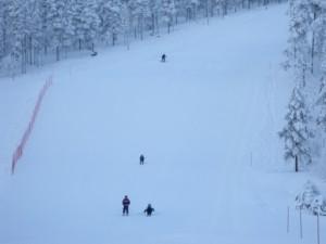 サーリセルカのスキー場