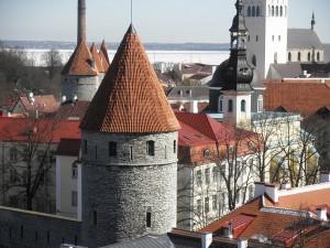 エストニア タリンの旧市街
