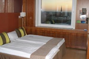 ホテルのお部屋、外の景色見てー!