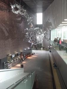 エントランスホールと天井装飾