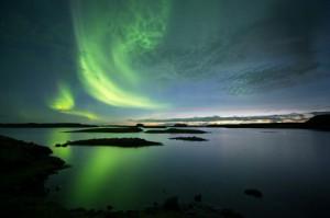 Myndin var tekin í Borgarfirði föstudaginn síðasta.